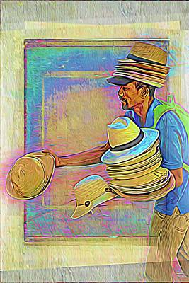 Photograph - Hat Man From Santa Marta by Alice Gipson