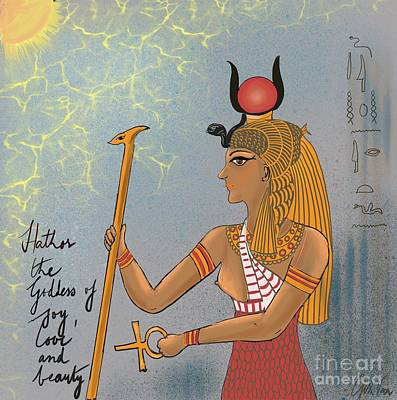 Painting - Hathor by Gita Vasa