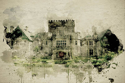 Photograph - Hatley Castle 3 by Marilyn Wilson