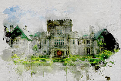 Photograph - Hatley Castle In Spring by Marilyn Wilson