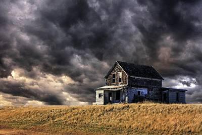 Photograph - Haunted  by David Matthews