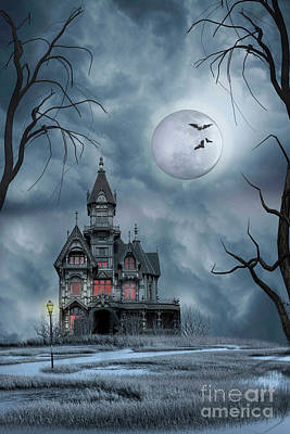 Photograph - Haunted House by Juli Scalzi