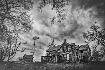 Royalty-Free and Rights-Managed Images - Haunted Kansas by Darren White