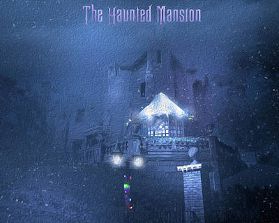 Venice Beach Bungalow - Haunted Mansion Holiday  by Mark Andrew Thomas