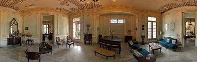 Photograph - Havana Mansion Pano by Tom Singleton