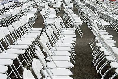 Photograph - Have A Seat by Charles HALL