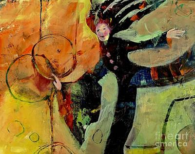 Painting - Having Fun by Michelle Abrams