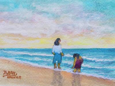 Anne Geddes - Hawaii Beach #492 by Donald k Hall