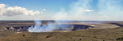 Photograph - Hawaii Hale Ma'uma'u Volcano Crater by Dave Matchett