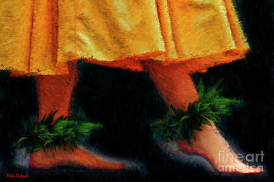 Photograph - Hawaiian Dancing Feet by Blake Richards