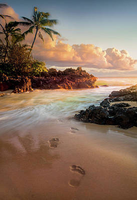 Photograph - Meet Me In The Sea / Maui, Hawaii  by Nicholas Parker