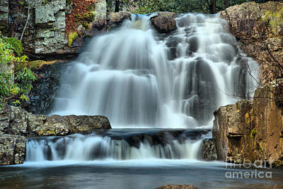 Photograph - Hawk Falls Closeup by Adam Jewell