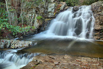 Photograph - Hawk Falls Landscape by Adam Jewell