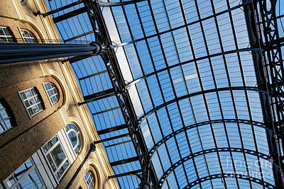 Photograph - Hays Galleria Abstract by Tim Gainey