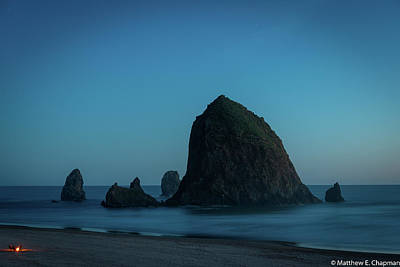 Photograph - Haystack And Needles by Matthew Chapman