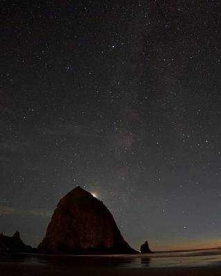 Photograph - Haystack Night Under The Stars by Todd Kreuter