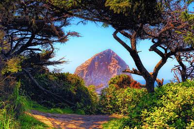 Photograph - Haystack Rock At Cape Kiwanda by Dee Browning