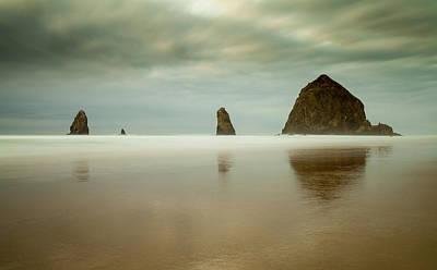 Photograph - Haystack Rock by Ian Gethings