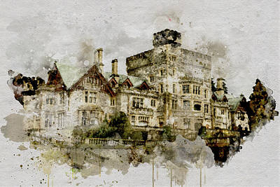 Photograph - Hatley Castle 2 by Marilyn Wilson