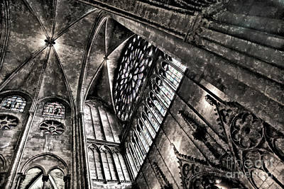 Digital Art - Hd Ceiling View Notre Dame Digital  by Chuck Kuhn