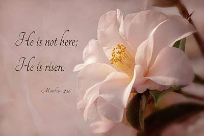 Photograph - He Is Risen by Mary Jo Allen