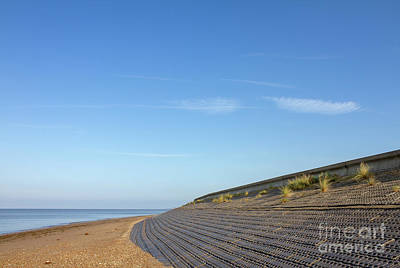 Royalty-Free and Rights-Managed Images - Heacham Dam and Revetment by John Edwards