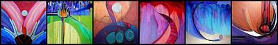 Painting - Header For B.j. by Marlene Burns