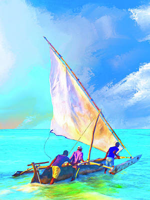 Painting - Heading Out by Dominic Piperata