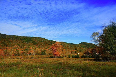 Photograph - Heading Up Mount Greylock On A Fall Day by Raymond Salani III