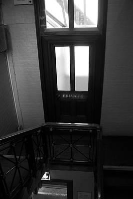 Photograph - Headmasters Door by Doc Braham