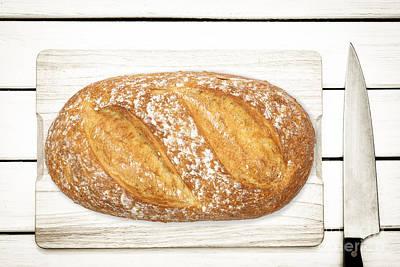 Bath Time - Healthy homemade bread by Wdnet Studio