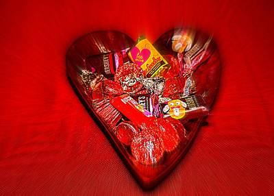 Photograph - Heart Of Chocolate  by Cynthia Guinn