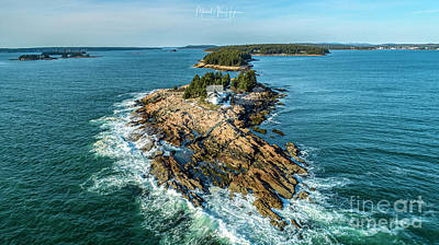 Photograph - Heart Of Frenchmans Bay  by Michael Hughes