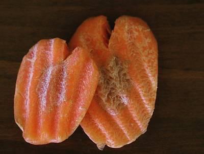 Photograph - Heartshaped Carrots by The Art Of Marilyn Ridoutt-Greene