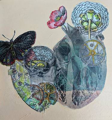 Mixed Media - Heartsong by Jillian Goldberg