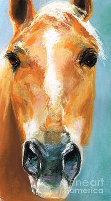 Painting - Heathers Horse by Frances Marino