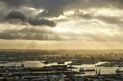 Photograph - Heaven And The Harbour by Frans Blok