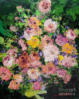 Painting - Heavenly Garden by Allan P Friedlander