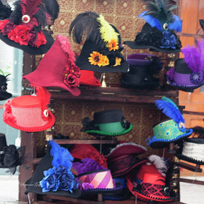 Photograph - Heavenly Hats In Pastel Squared by Suzanne Gaff