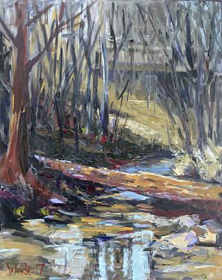 Painting - Heavenly Waters by Pamela Wilde