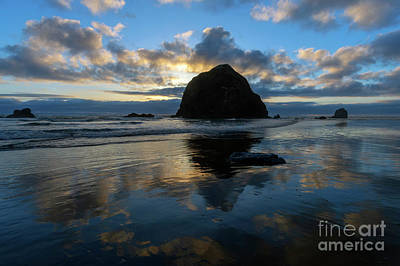 Photograph - Heavens Reflected by Mike Dawson
