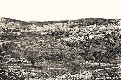 Photograph - Hebron 1889 by Munir Alawi