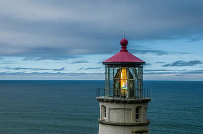 Photograph - Heceta Head Light by Matthew Irvin