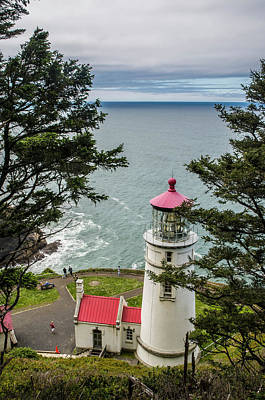 Photograph - Heceta Head Lighthouse by Matthew Irvin