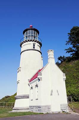 Photograph - Heceta Head Lighthouse Oregon V4 by Rospotte Photography