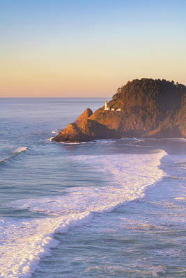 Royalty-Free and Rights-Managed Images - Heceta Light by Darren White