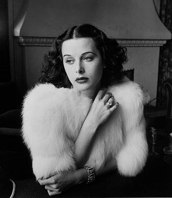 Photograph - Hedy Lamarr by Alfred Eisenstaedt