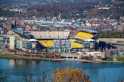 Photograph - Heinz Field Daytime by Dan Urban