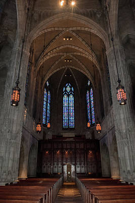 Photograph - Heinz Memorial Chapel by Guy Whiteley