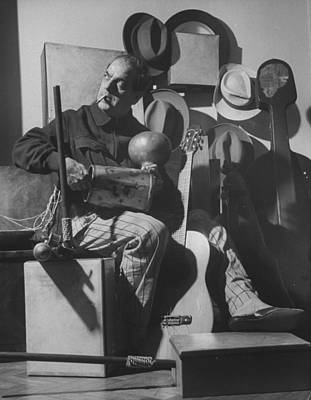 Photograph - Heitor Villa-lobos by Time Life Pictures